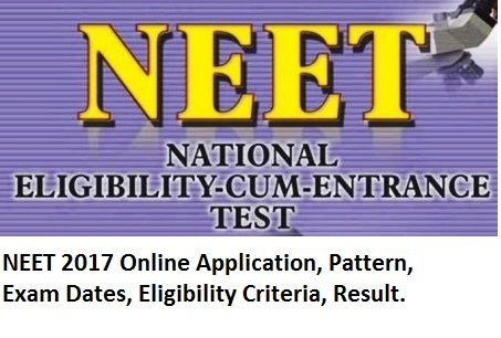 Image result for NEET 2017 Application Form