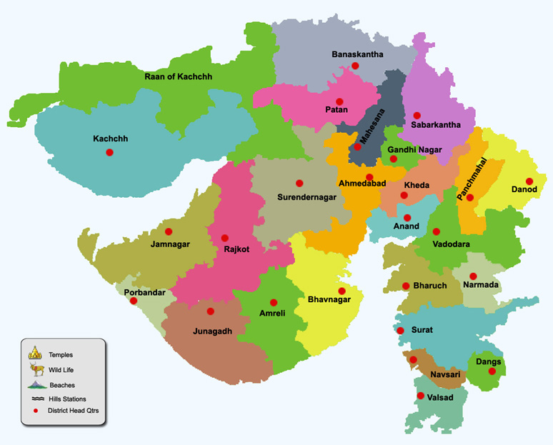 Gujarat GK Quiz: Gujarati General Knowledge Question Answers, GJ